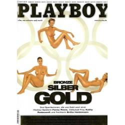 Playboy Sep. 2004 - Fanny Rinne, Kathy Radzuweit , Britta Heidemann