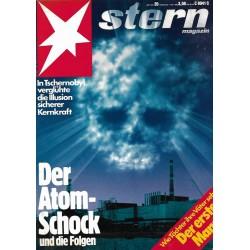 stern Heft Nr.20 / 7 Mai 1986 - Der Atom Schock