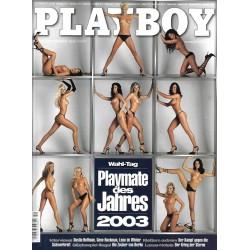 Playboy Nr.12 / Dezember 2003 - Playmate des Jahres 2003