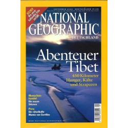 NATIONAL GEOGRAPHIC September 2003 - Abenteuer Tibet