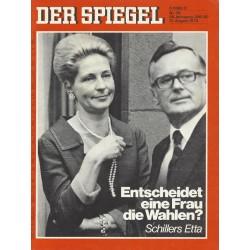 Der Spiegel Nr.35 / 21 August 1972 - Entscheidet eine Frau die Wahlen?
