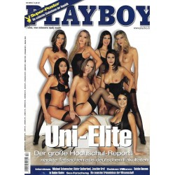 Playboy Nr.4 / April 2004 - Uni-Elite
