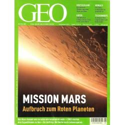 Geo Nr. 5 / Mai 2003 - Mission Mars