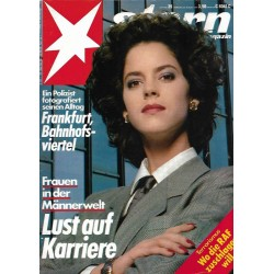 stern Heft Nr.35 / 22 August 1985 - Lust auf Karriere