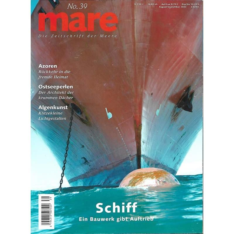 mare No.39 August / September 2003 SChiff