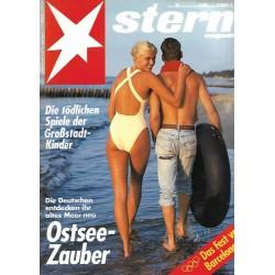 stern Heft Nr.32 / 30 Juli 1992 - Ostsee Zauber