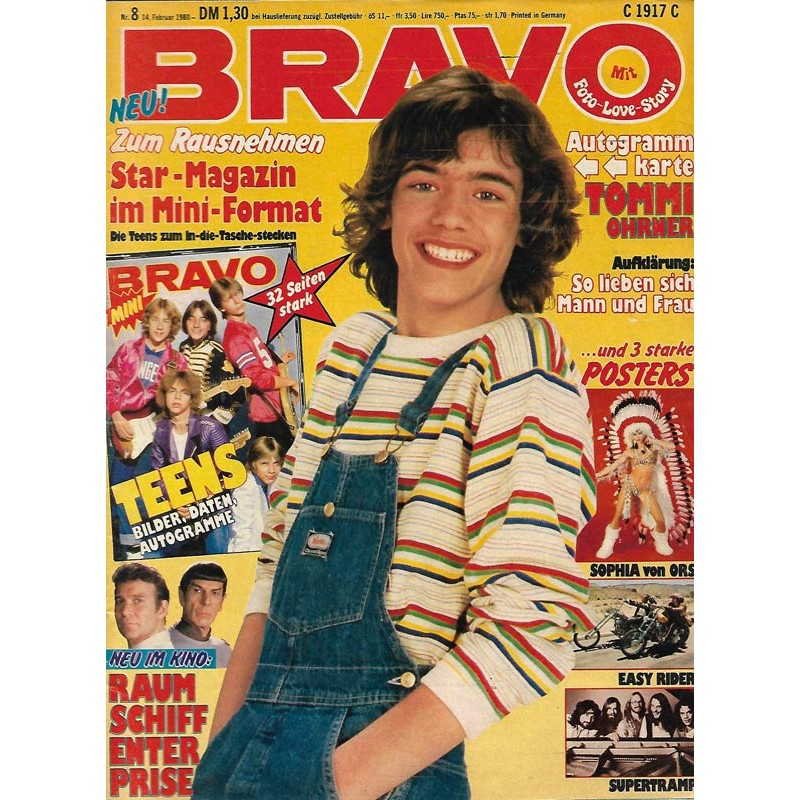 BRAVO Nr.8 / 14 Februar 1980 - Tommi Ohrner