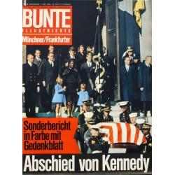 Bunte Illustrierte Nr.50 / 11 Dezember 1963 - Abschied von Kennedy