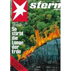 stern Heft Nr.7 / 9 Februar 1989 - So stirbt die Lunge der Erde