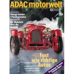 ADAC Motorwelt Heft.12 / Dezember 1986 - Fast wie richtige Autos