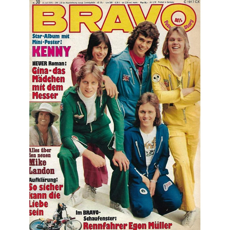 BRAVO Nr.30 / 15 Juli 1976 - Kenny