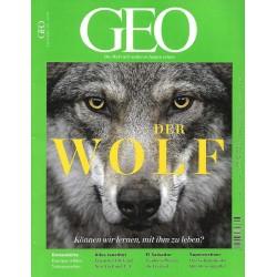 Geo Nr. 5 / Mai 2018 - Der Wolf