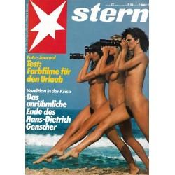 stern Heft Nr.22 / 24 Mai 1984 - Farbfilme für den Urlaub