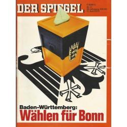 Der Spiegel Nr.17 / 17 April 1972 - Wählen für Bonn