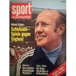 Sport Illustrierte Nr.9 / 27 April 1972 - Helmut Schön