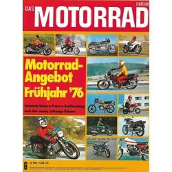 Das Motorrad Nr.6 / 20 März...