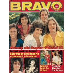 BRAVO Nr.40 / 23 September 1976 - Kenny Super Poster