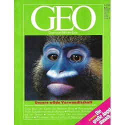 Geo Nr. 10 / Oktober 1989 - Unsere wilde Verwandtschaft