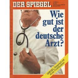Der Spiegel Nr.26 / 19 Juni 1972 - Wie gut ist der deutsche Arzt?