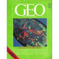 Geo Nr. 5 / Mai 1983 - Das Geschäft mit den edlen Steinen