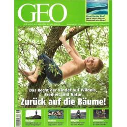 Geo Nr. 8 / August 2010 - Zurück auf die Bäume!