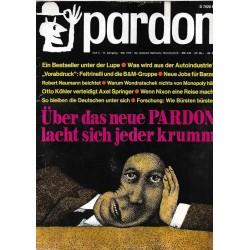 pardon Heft 5 / Mai 1972 - neue Pardon, lacht sich jeder krumm