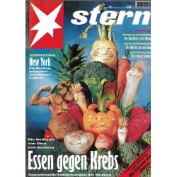 stern Heft Nr.18 / 28 April 1994 - Essen gegen Krebs