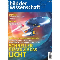 Bild der Wissenschaft 2 / 2003 - Schneller Fliegen als das Licht