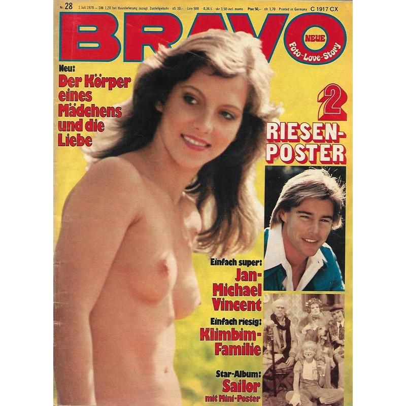 BRAVO Nr.28 / 1 Juli 1976 - Der Körper eines Mädchen & die Liebe