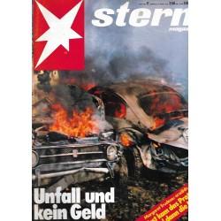 stern Heft Nr.17 / 19 April 1979 - Unfall und kein Geld