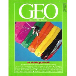 Geo Nr. 7 / Juli 1989 - Der beflügelte Fall