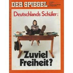 Der Spiegel Nr.14 / 27 März 1972 - Zuviel Freiheit?