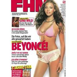 FHM November 2003 - Beyonce!