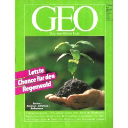 Geo Nr. 3 / März 1990 - Letzte Chance für den Regenwald