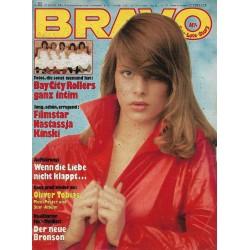 BRAVO Nr.31 / 22 Juli 1976 - Filmstar Nastassja Kinski