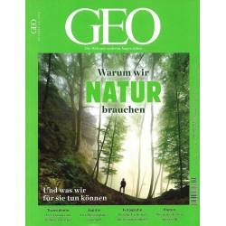 Geo Nr. 9 / September 2018 - Warum wir Natur brauchen