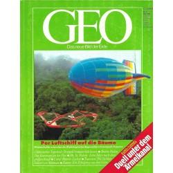 Geo Nr. 5 / Mai 1990 - Per Luftschiff auf die Bühne