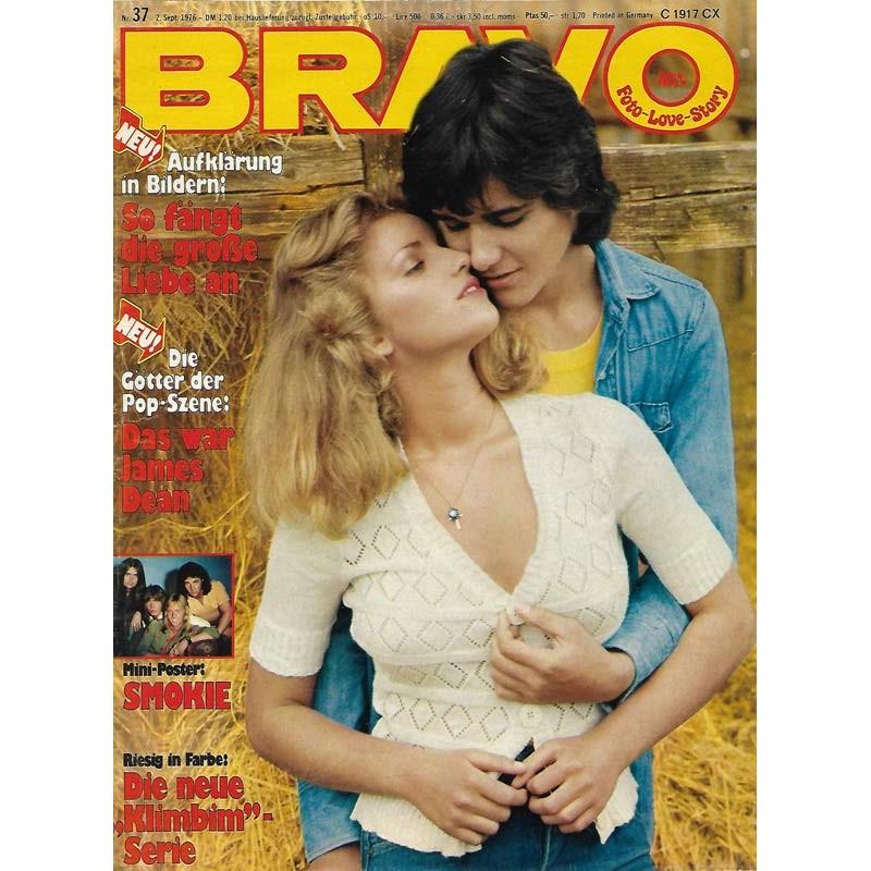 BRAVO Nr.37 / 2 September 1976 - So fängt die große Liebe an
