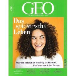 Geo Nr. 11 / November 2018 - Das spielerische Leben