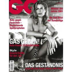 GQ Nr.10 Oktober 2001 - Carrie Otis