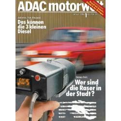 ADAC Motorwelt Heft.1 / Januar 1984 - Wer sind die Raser in der Stadt?