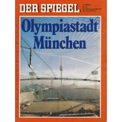 Der Spiegel Nr.3 / 10 Januar 1972 - Olympiastadt München