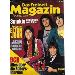 Das Freizeit Magazin für junge Leute Nr.51 / 12 Dez 1977 - Smokie