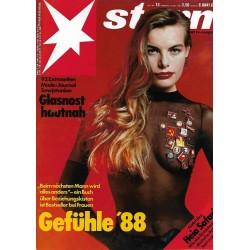 stern Heft Nr.13 / 24 März 1988 - Mode in Moskau