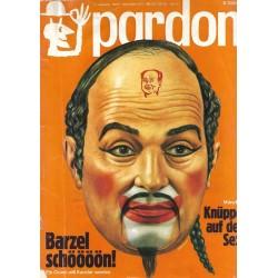 pardon Heft 9 / September 1972 - Barzel schöööön!