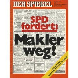 Der Spiegel Nr.17 / 23 April 1973 - SPD fordert - Makler weg!