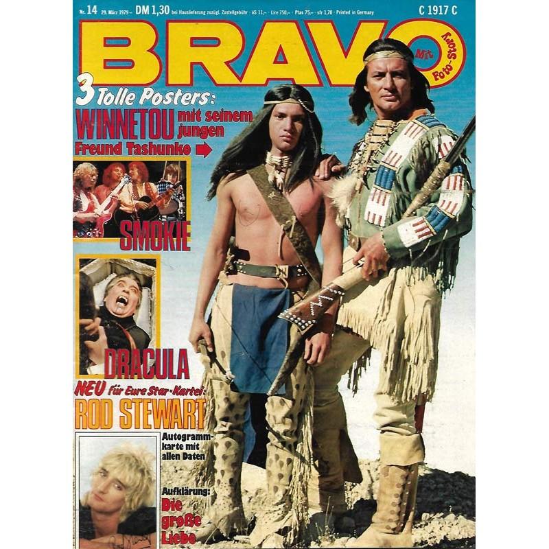 BRAVO Nr.14 / 29 März 1979 - Winnetou mit Tashunko