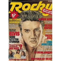 Rocky Nr.33 / 10 August 1978 - Elvis seine letzten Stunden