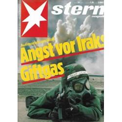 stern Heft Nr.34 / 16 August 1990 - Angst vor Iraks Giftgas