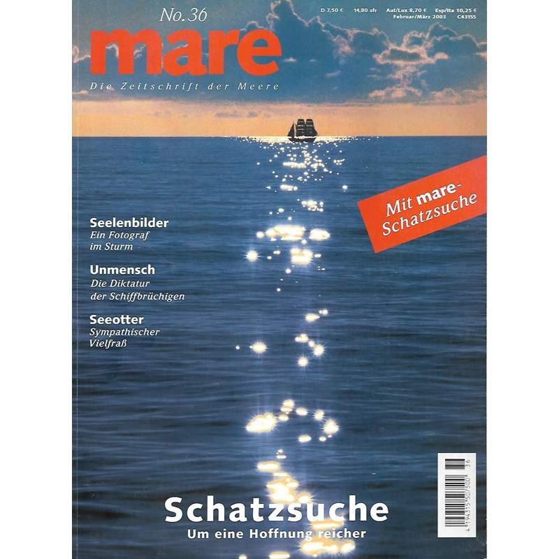 mare No.36 Februar / März 2003 Schatzsuche